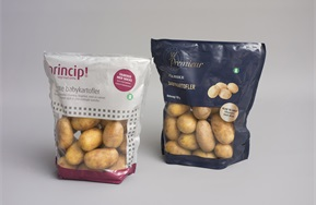 Doypack (standup film pouch) for potatoes