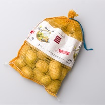 potatoes - kntted net bag